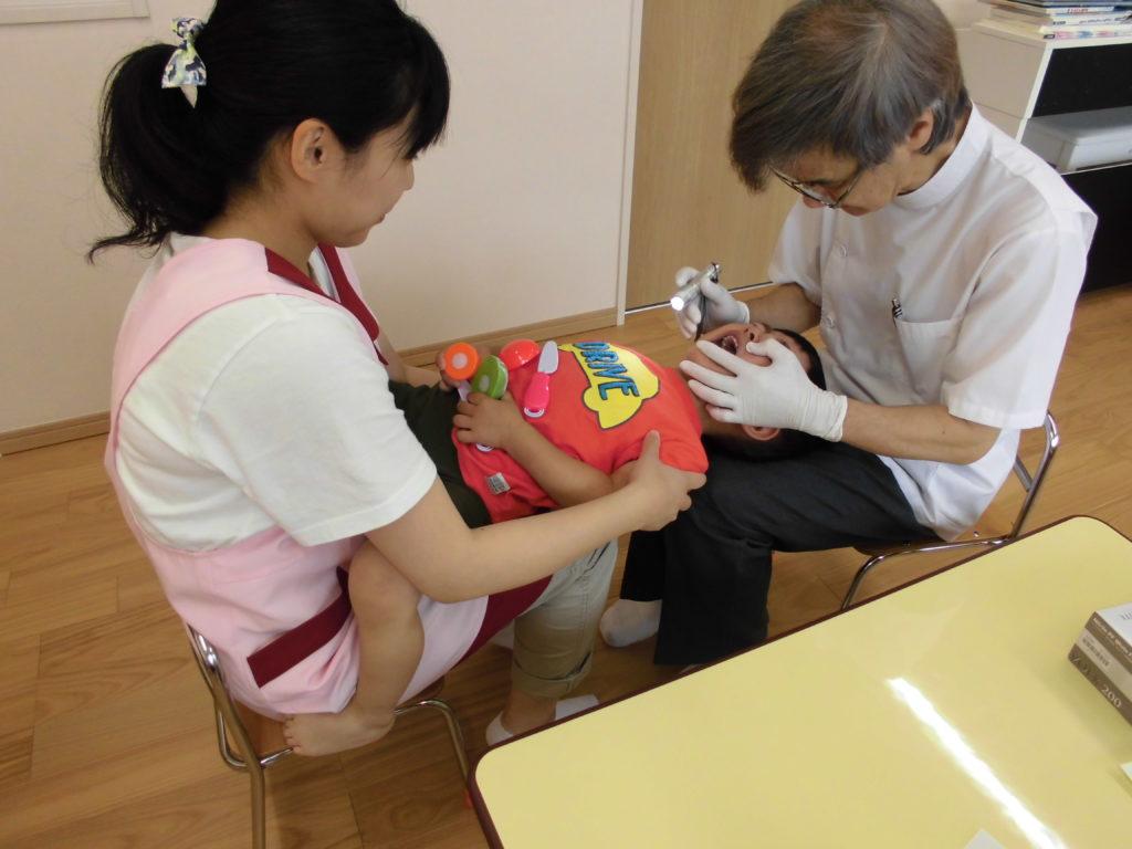 歯科検診 かがやき保育園 福岡市西区