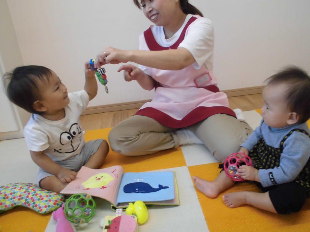 10月の子供達 かがやき保育園 福岡市西区